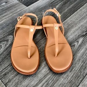 Cole Haan - Flora Thong Sandals Size 8.5 (Brown)